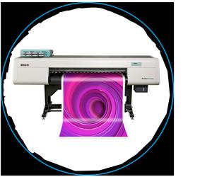 Acuity LED 160 II Druckmaschine, 6 Farben, Weißdruck und