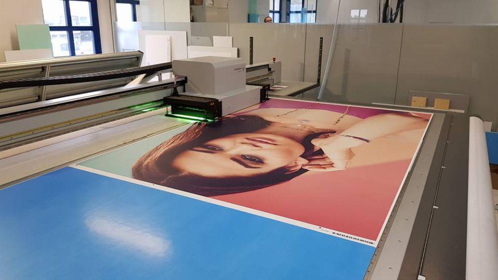 Werbetechnik - Plattendirektdruck