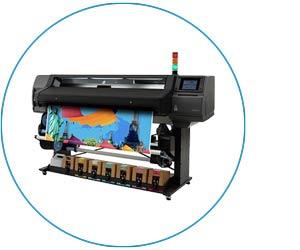 HP Latex 570 Druckmaschinen Latexdruck
